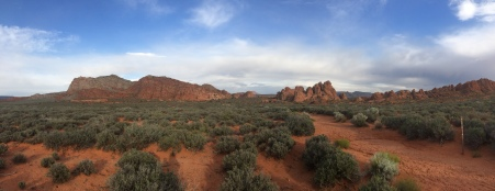 Pano of Sand Cove at Red Cliffs