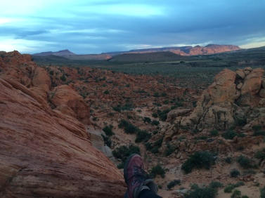 Facing East from a perch in Red Cliffs