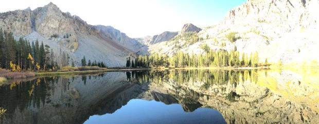 Fall colors at Fern Lake