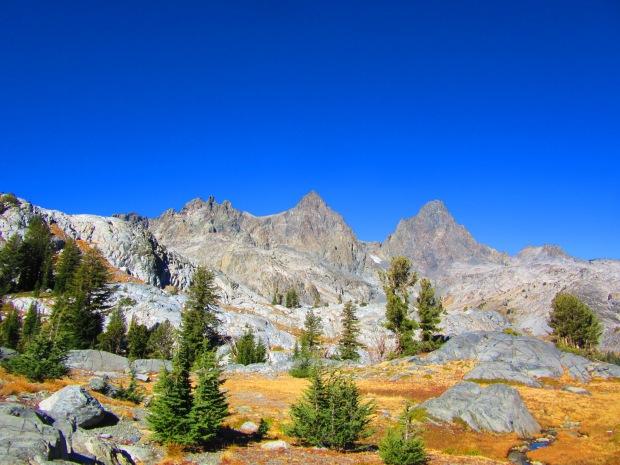 Ritter and Banner Peak, 14ers! Ritter Range.