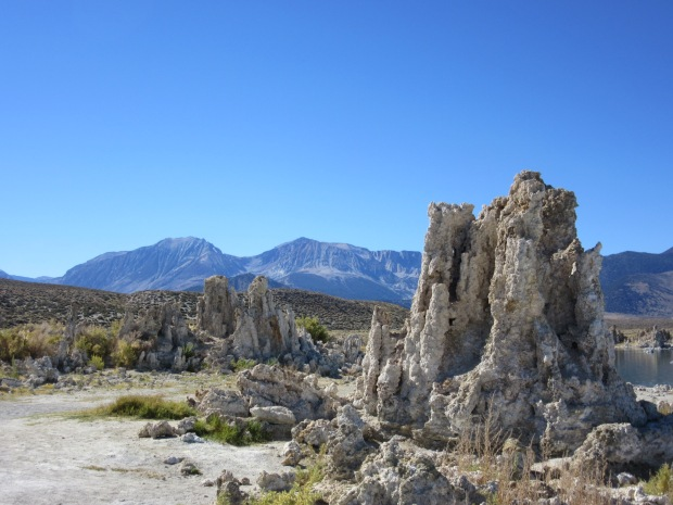 Tufas in Mono Basin